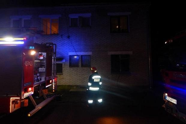 Niedrzwica na Mazurach. Strażacy znaleźli ciało 56-letniego mężczyzny