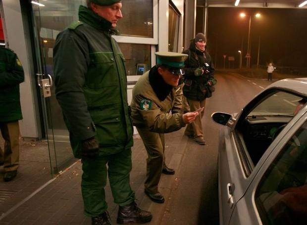 Nielegalni na granicy polsko – niemieckiej
