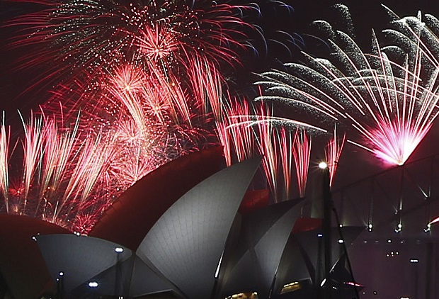 Sylwester i Nowy Rok w Australii: Ekstremalne warunki pogodowe i całkowity zakaz używania fajerwerków