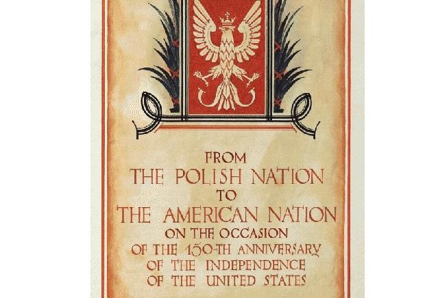 Niezwykła kolekcja z Biblioteki Kongresu USA: Polacy-Amerykanom