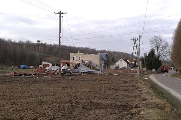 Osiem tysięcy osób bez prądu w Małopolsce
