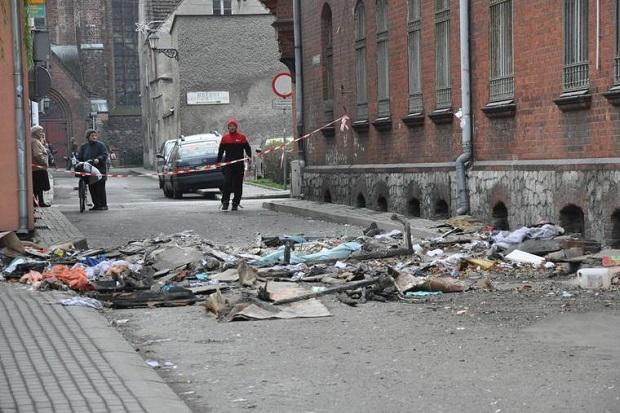 Opolskie – wybuch w kamienicy w centrum Kluczborka