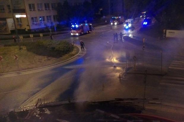 Wyciek gazu na warszawskim Mokotowie