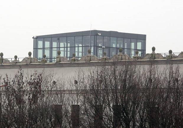 Szklany pawilon na Zamku Książąt Pomorskich budzi kontrowersje
