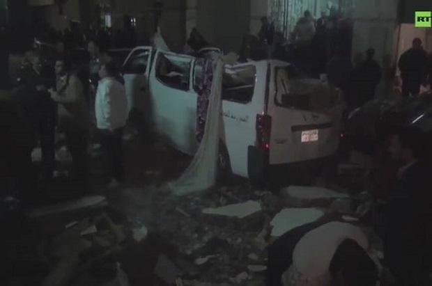 Wybuch bomby w Gizie. Eksplozja zabiła co najmniej 10 osób