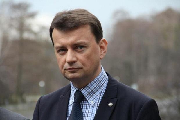 Minister M. Błaszczak i komendant straży pożarnej o nawałnicach