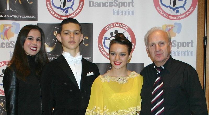 Jubileuszowe 10 Polonijne Mistrzostwa Stanów Zjednoczonych w Tańcu Towarzyskim