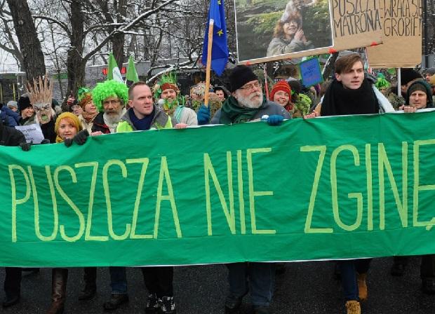 Spór o Puszczę Białowieską jednym z głównych tematów 2017 roku