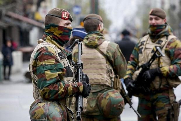 Żołnierze na ulicach Belgii co najmniej do 5.lutego