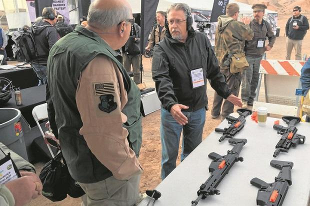 Polska broń na pokazach w Las Vegas
