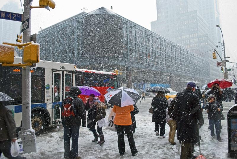 Kolejna śnieżyca w Nowym Jorku