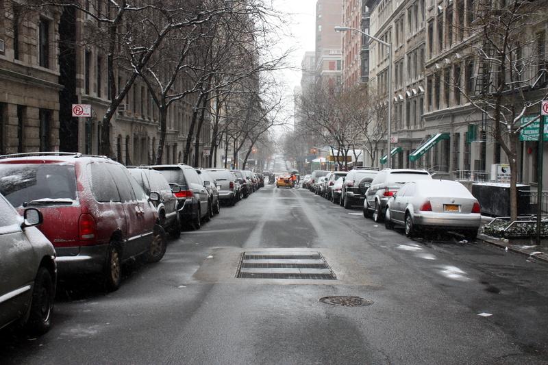 Powrót mroźniej i śnieżnej zimy w Nowym Jorku
