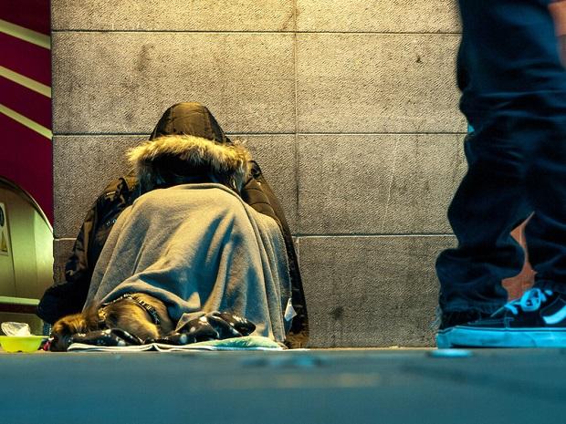 Wzrost liczby bezdomnych w stolicy Kalifornii