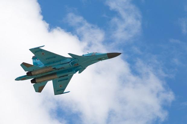 Rosyjska armia wstrzymuje loty Su-34 po wypadku nad Morzem Japońskim
