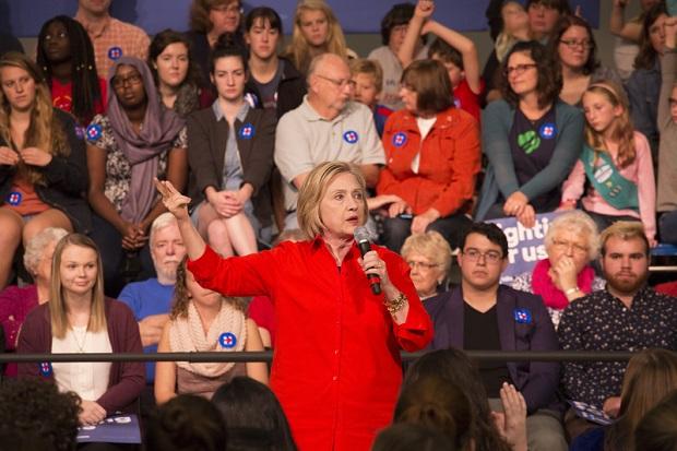 Clinton ma 7% przewagi nad Trumpem w Michigan