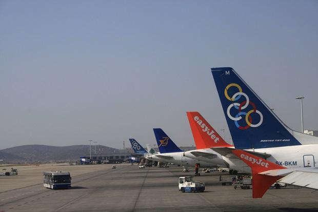 Strajk pracowników lotnictwa cywilnego w Grecji
