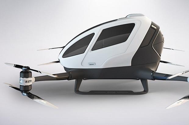 Pasażerski dron bez pilota
