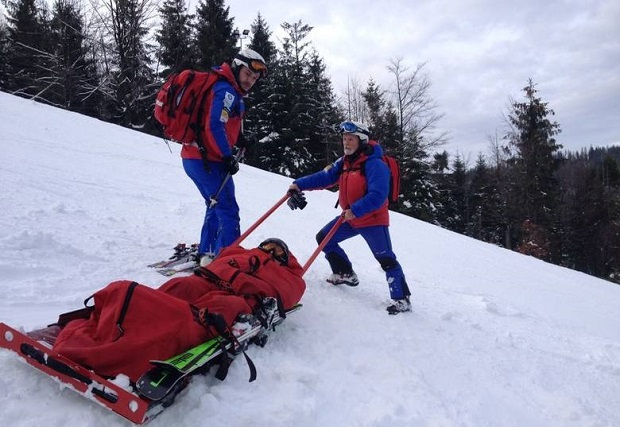 GOPR apeluje o zachowanie ostrożności na stokach narciarskich