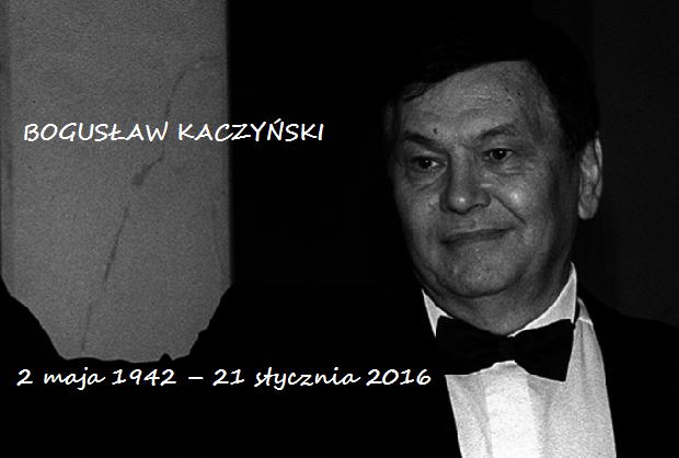 Rok temu odszedł Bogusław Kaczyński – miłośnik muzyki, krytyk, muzykolog…