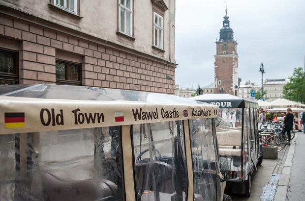 Spór o meleksy w Krakowie