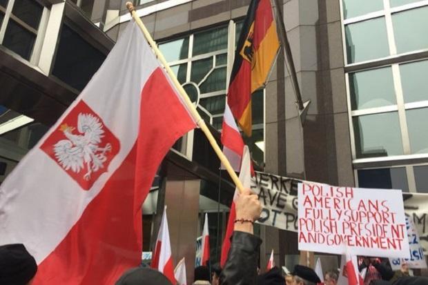 Protesty Polonii w Stanach Zjednoczonych