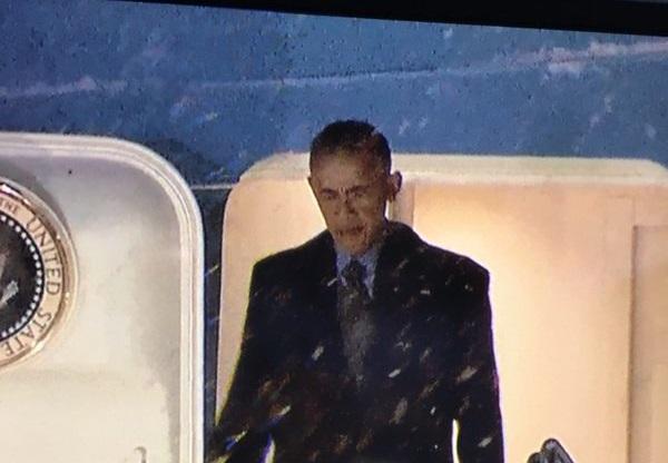 Śnieżyca zakłóciła podróż Baracka Obamy