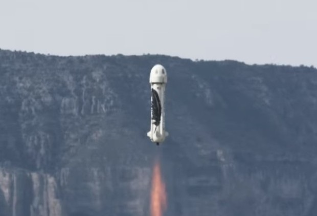 Kolejne pionowe lądowanie rakiety New Shepard