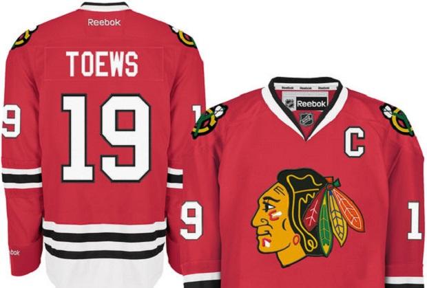 Koszulki zawodników Chicago Blackhawks: Toews'a i Kane'a są najczęściej kupowane przez kibiców