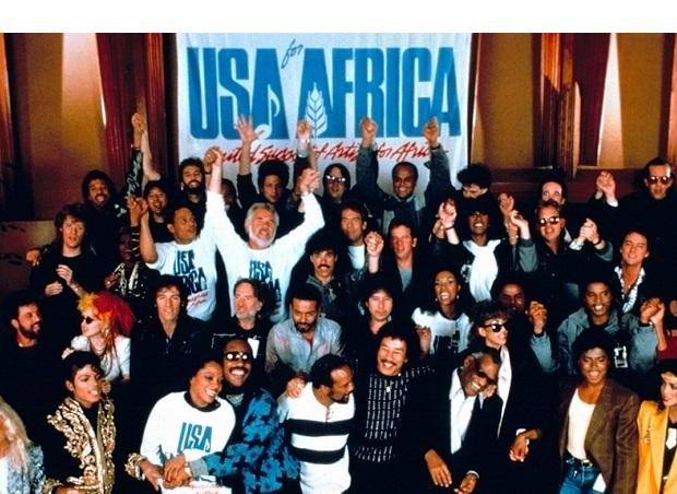 """28 stycznia 1985 roku nagrano """"We Are The World ..."""