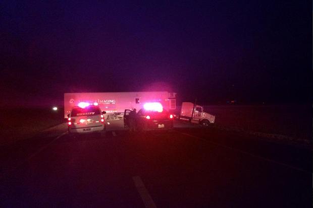 Karambol na I-88, 4 osoby ranne