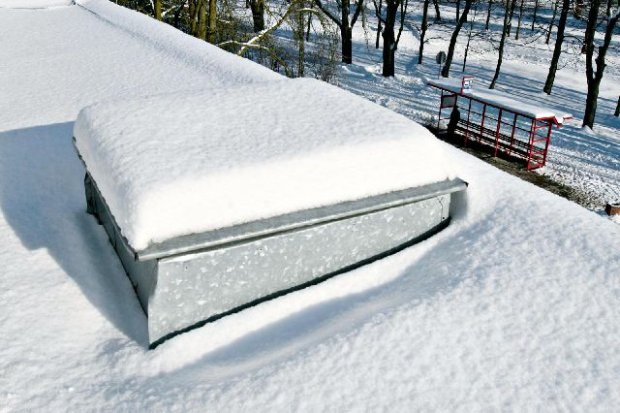 Ciepły beton sposobem na śnieg
