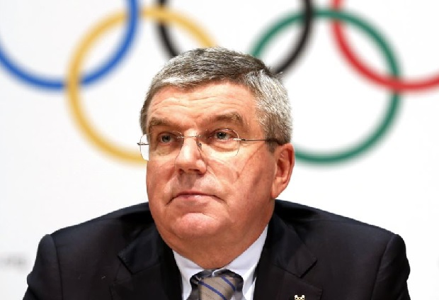 Przewodniczący MKOl-u odwiedził starające się o igrzyska Los Angeles