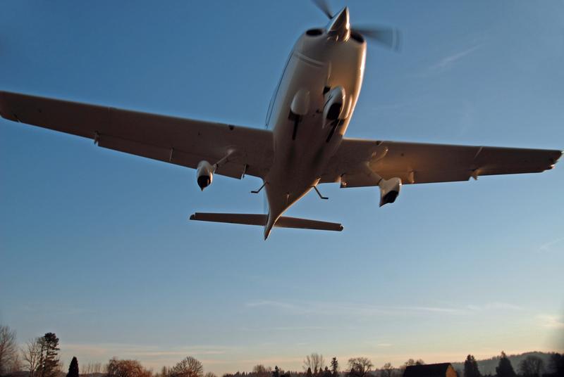 Śmiertelny lot małego samolotu na Long Island