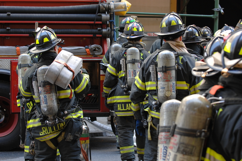 Groźny pożar na Queensie