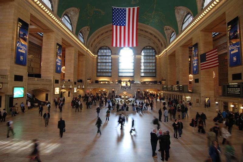 Komunikacyjny chaos na Grand Central Terminal