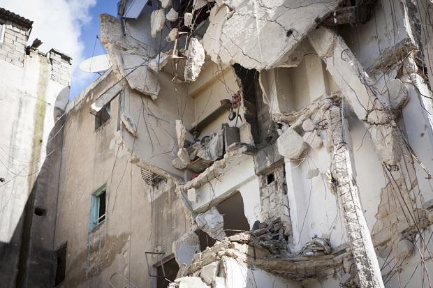 Koalicja bojowników wspierana przez USA odbiła z rąk ISIS część miasta Manbidż