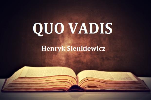 """Narodowe czytanie 2016 – """"Quo Vadis"""" Henryka Sienkiewicza"""