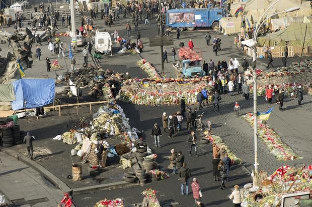 Rosyjska prowokacja na Majdanie? Usunięto antyrządowych demonstrantów