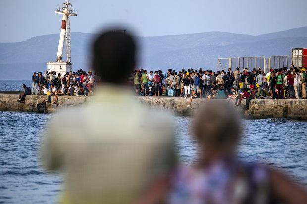 Niemiecko-włoski spór o migrantów
