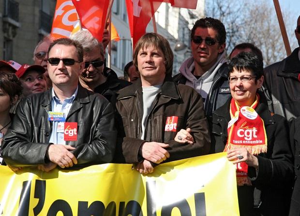 Demonstracje związkowców przeciwko polityce rządu Francji