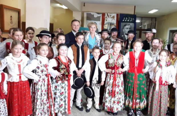 """Para prezydencka na 'Dudaski Tłusty Czwartek"""" w Zakopanem"""