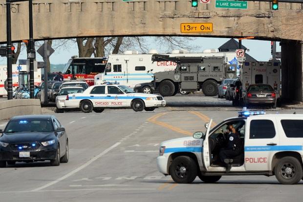 Wzrosła liczba strzelanin na chicagowskich autostradach
