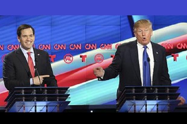 Trump i Rubio spierali się o islam podczas spokojnej debaty GOP