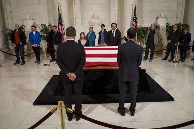 Amerykanie pożegnali zmarłego sędziego Antonina Scalię