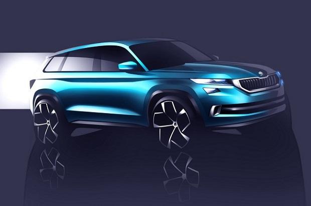 SUV Skody – wersja studyjna VisionS