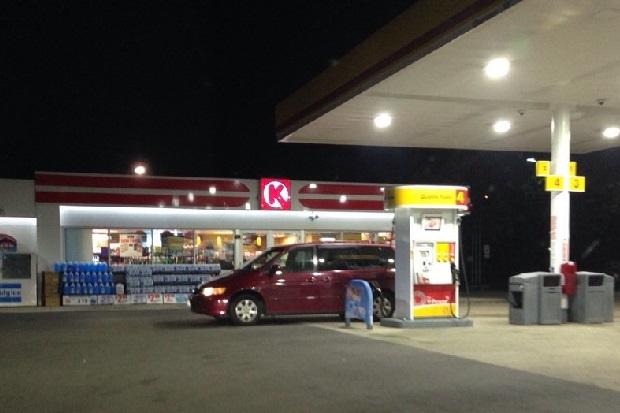 Policja zidentyfikowała kobietę, która podpaliła się na stacji benzynowej