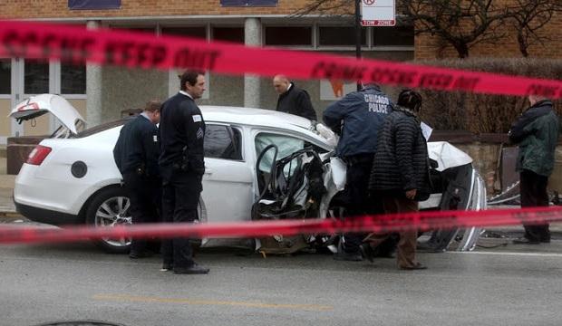 Wypadek drogowy czy zabójstwo w dzielnicy Irving Park