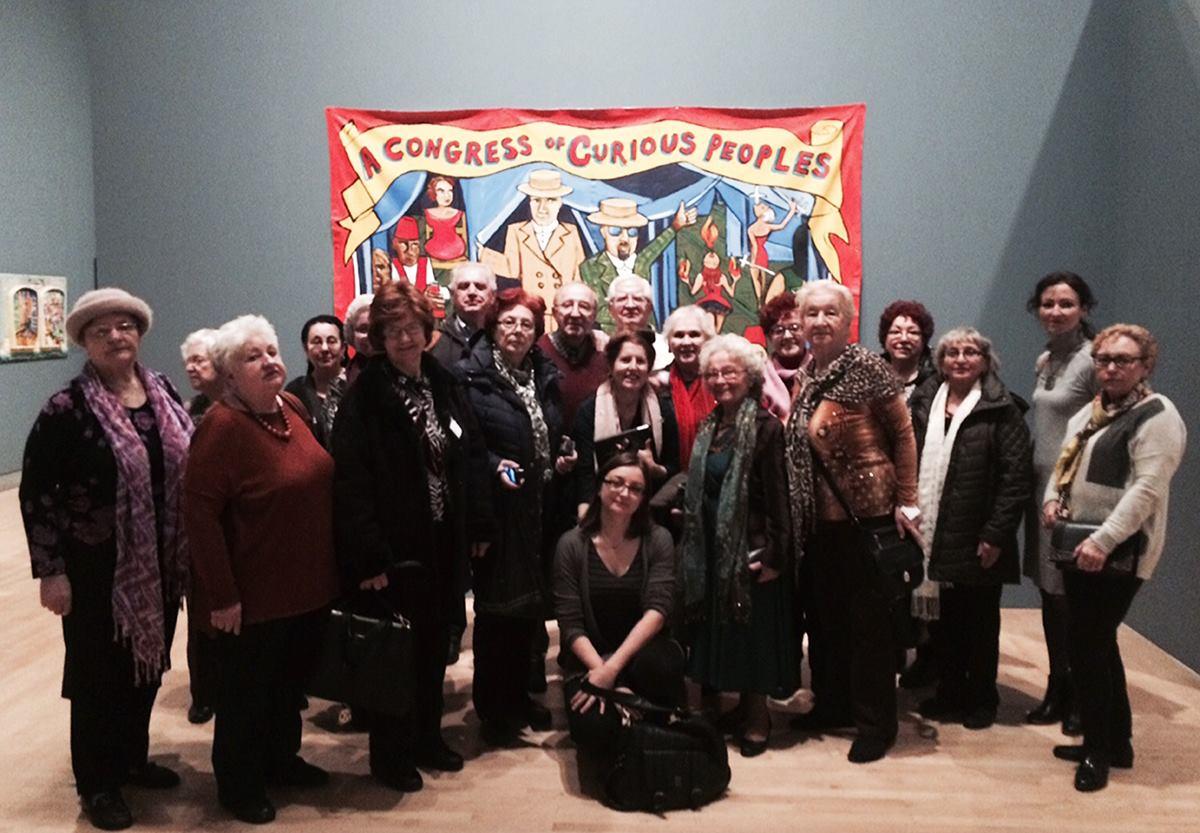 Wycieczka seniorów z Klubu Seniora Krakus do Brooklyn Museum
