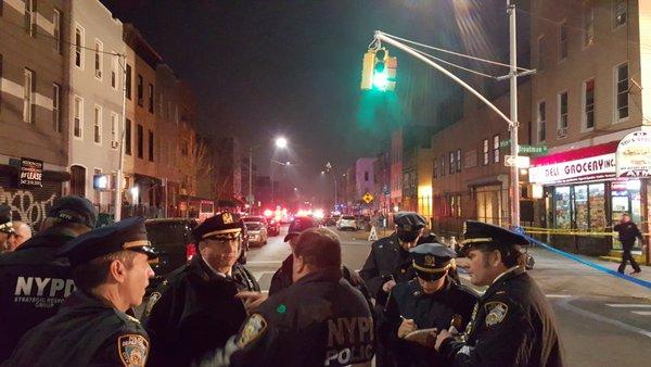 Śmiertelna strzelanina na Brooklynie
