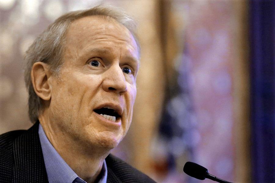 Gubernator Rauner obwinia Demokratów za kryzys budżetowy i problemy Chicago State University